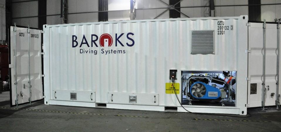 Komora kontenerowa - Baroks