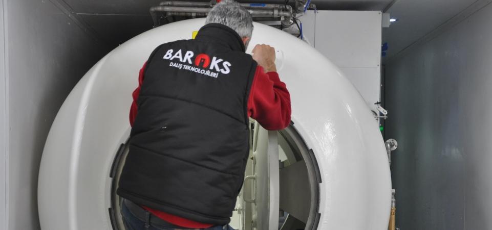 Obsługa komory kontenerowej - Baroks